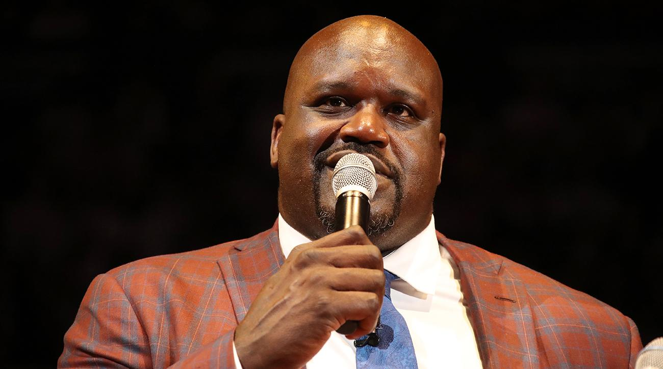 Shaq Calls for More Law Enforcement Funding Not Gun Ban to Keep Kids Safe in School