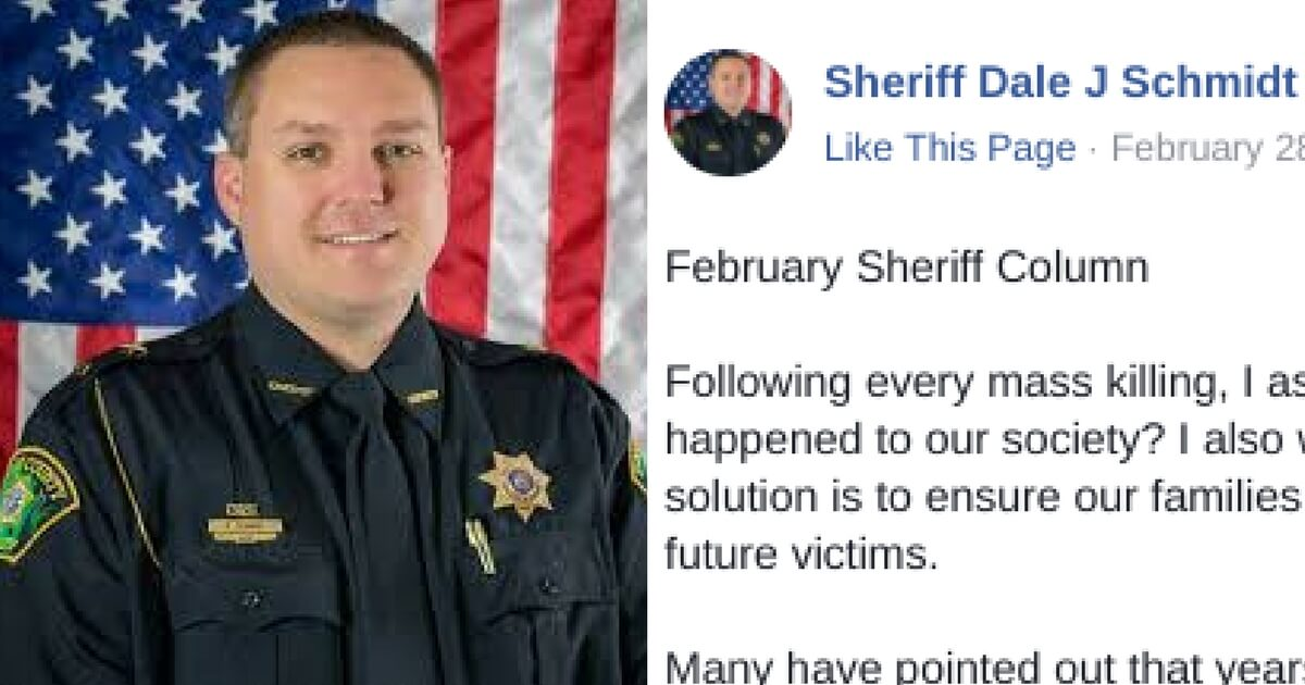 FedUp Sheriff Goes Off Tells the Real Truth About Liberals and Mass Shootings