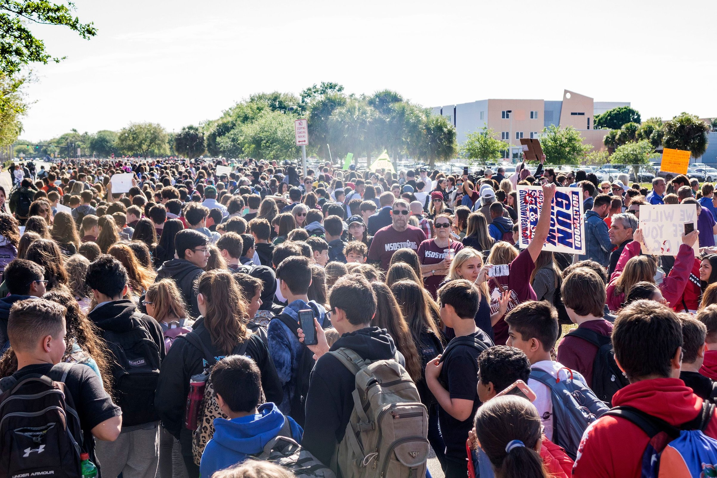 Denver Catholic School Students Chose To Pray Instead Of Walking Out