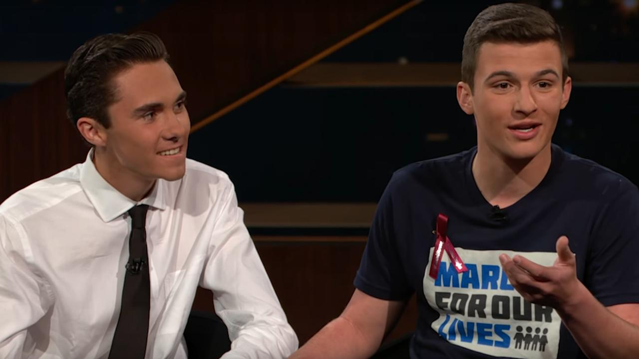 "Two victims of the Marjory Stoneman Douglas High School shooting have become outspoken advocates for gun control, and they held nothing back during an appearance this week on HBO's ""Real Time with Bill Maher."" One student bragged about hanging up on a phone call from the White House, while another said he is thankful for the chance …"
