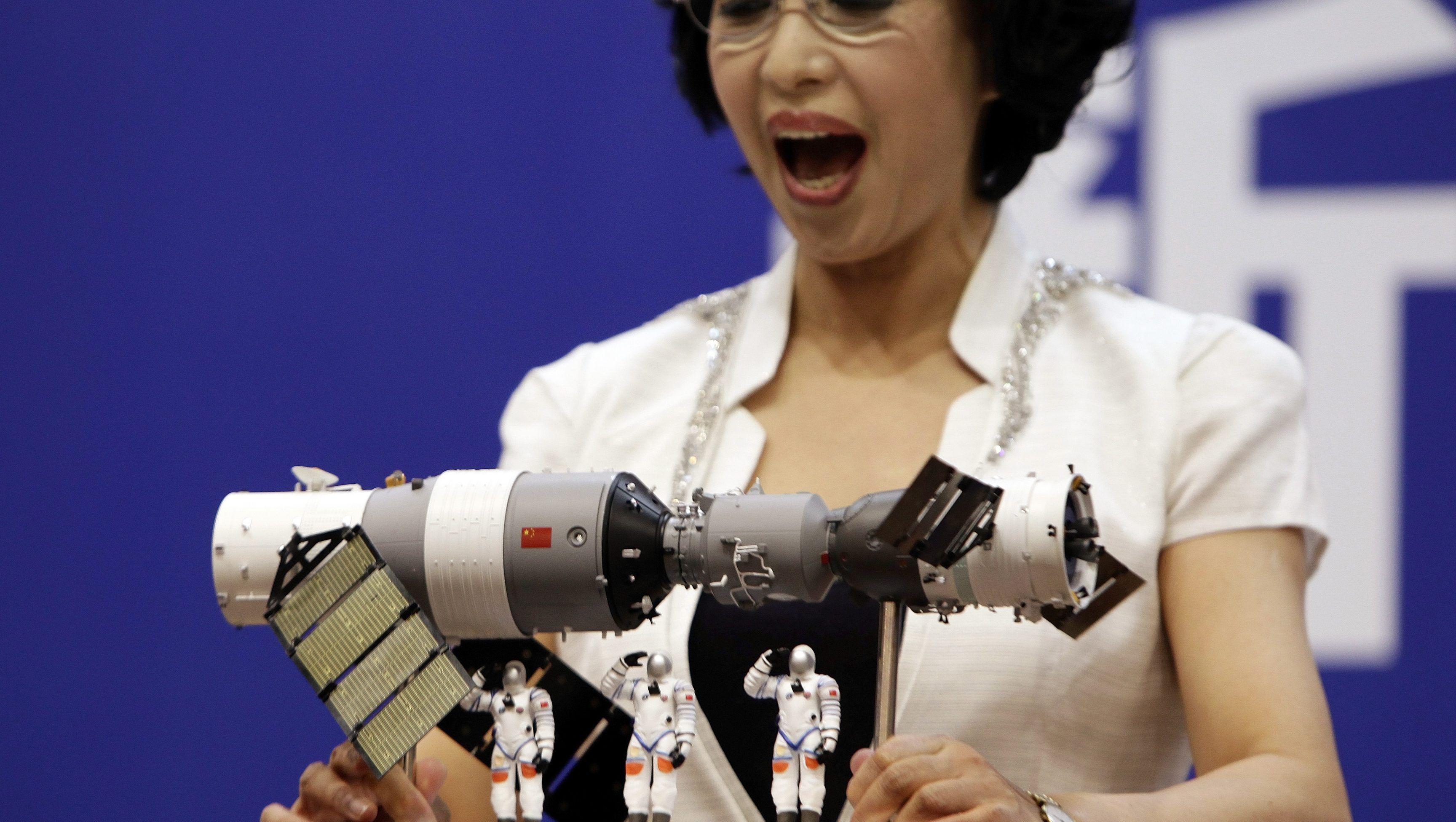 A Chinese Satellite Might Crash Into Southeast Michigan Next Week
