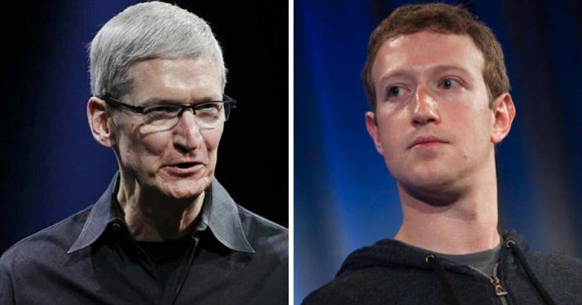 Apples CEO Had Very Harsh Words for Mark Zuckerberg