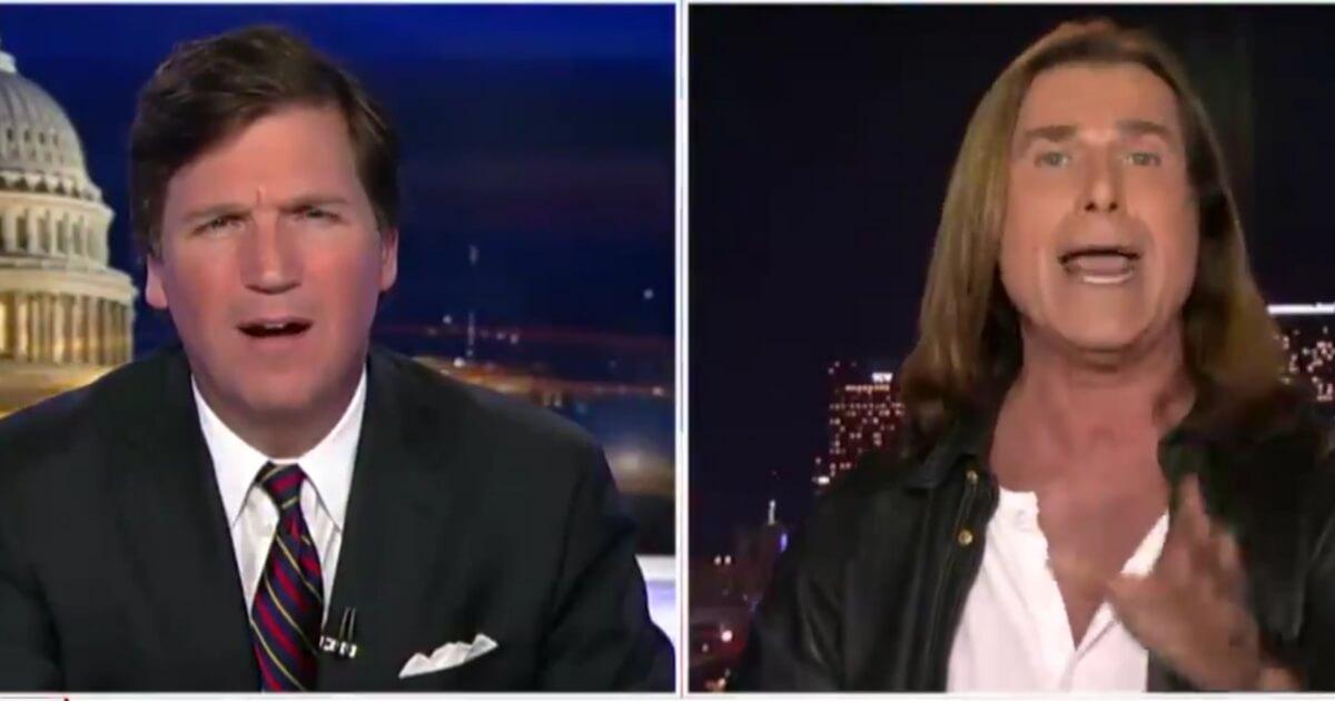 WATCH Modeling Legend Fabio Goes on Tucker Unloads on Democrat Leaders in California