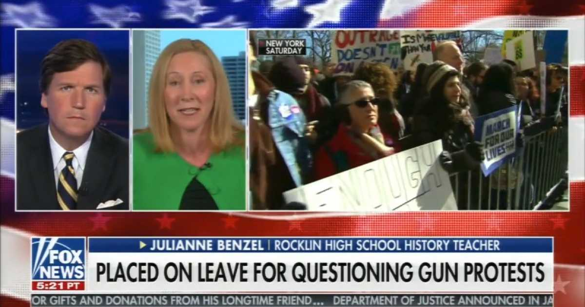WATCH Teacher Who Questioned Student Walkout Reveals Something Thats Gonna Give School District A Headache