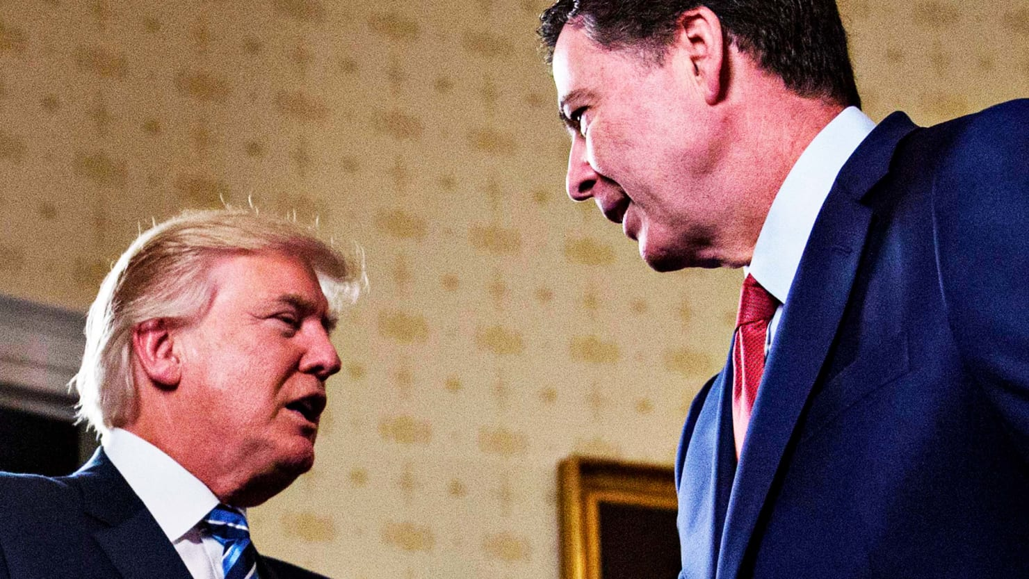 WATCH Comey compares Trump to mob boss in ABC interview ...