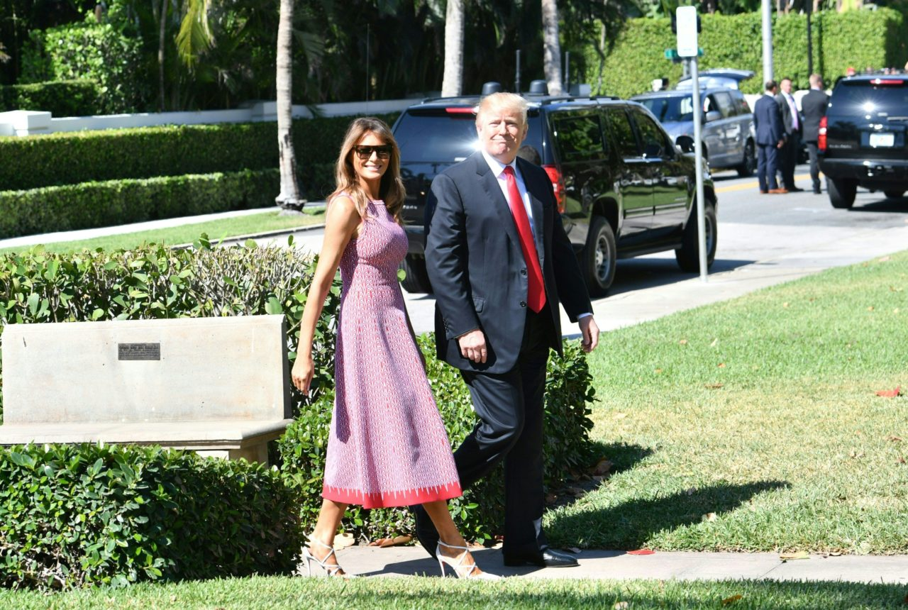 Melania Trump Classes Up First Lady Easter in Stunning Style