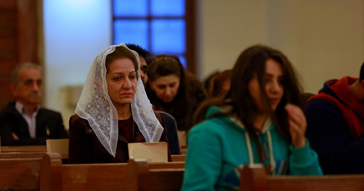 This Easter Christians in Iraq faithfully gather where ISIS once ruled