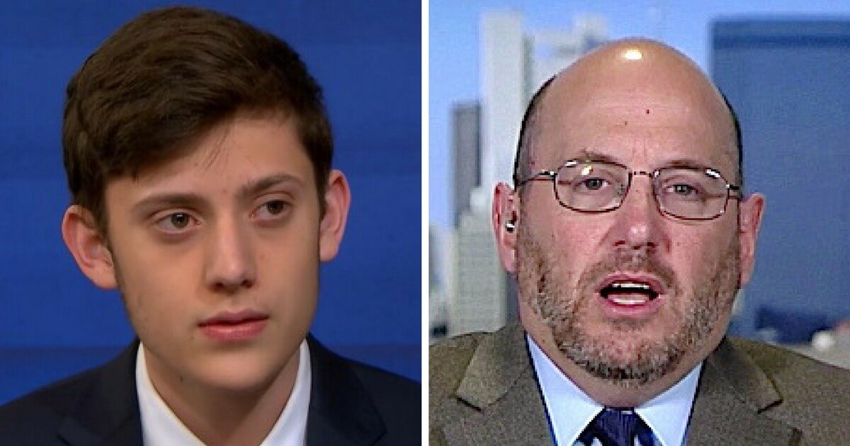 MELTDOWN Kyle Kashuv Just Took Down Kurt Eichenwald in Front of the Entire Country