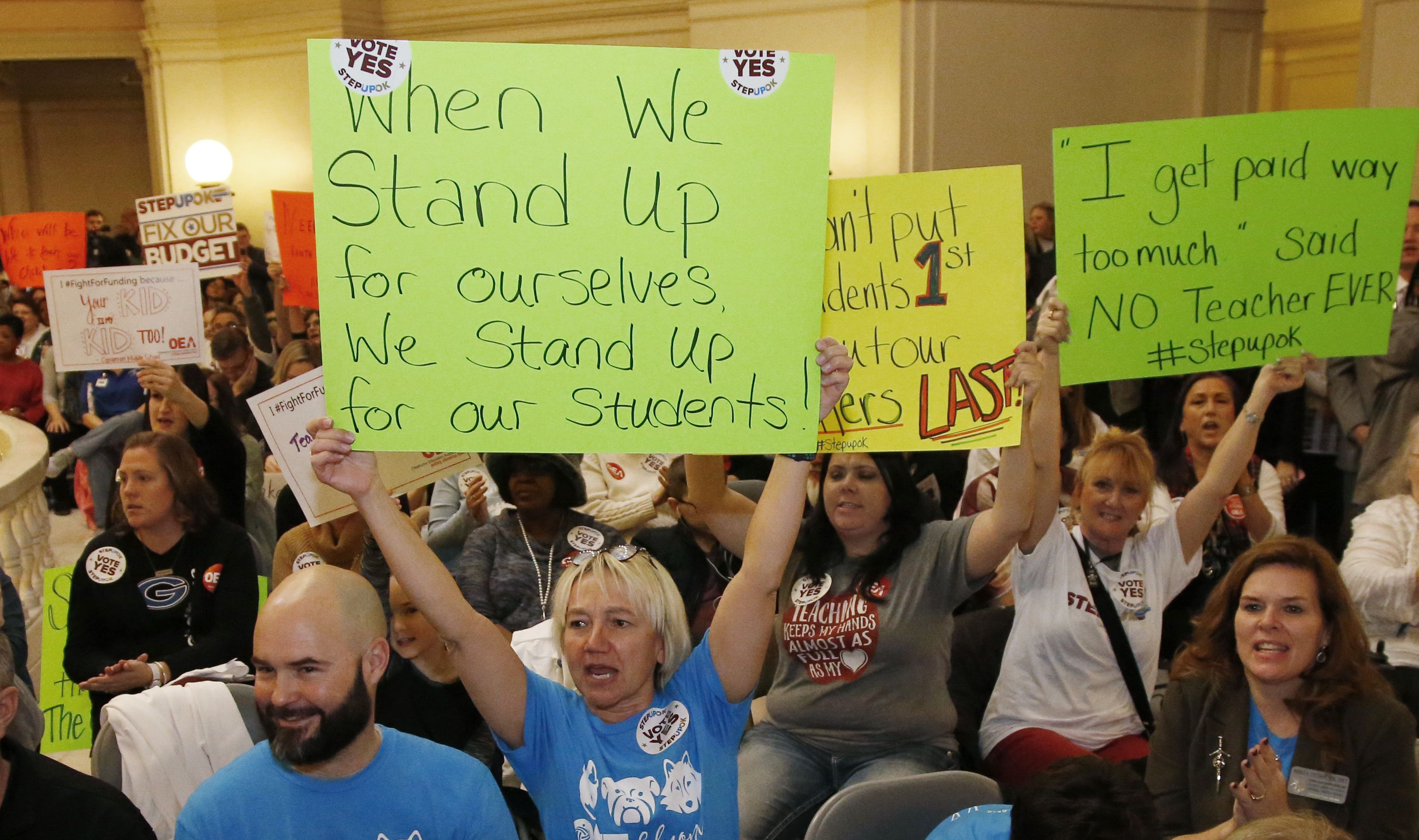 Why are teachers striking The answer may surprise you